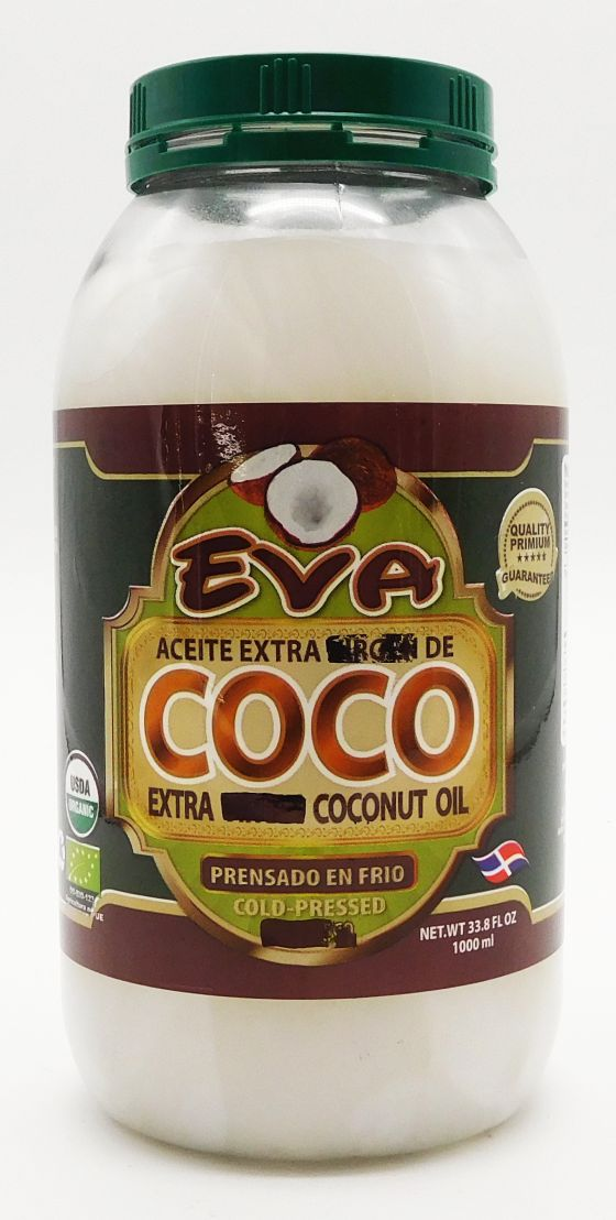 Eva Extra Virgin Cold Pressed Coconut Oil 1000 ml