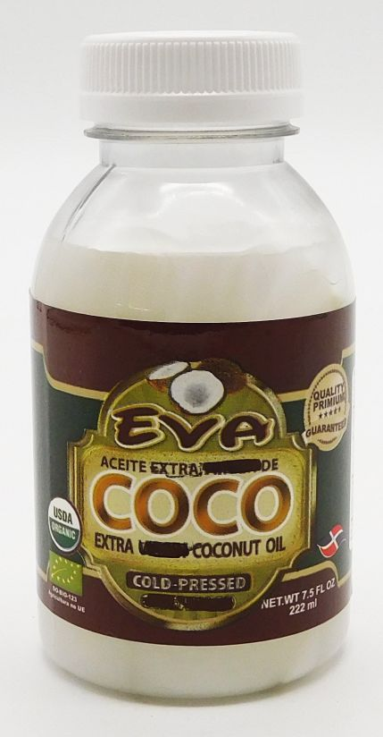 Eva Extra Virgin Cold Pressed Coconut Oil 222 ml