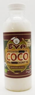 Eva Extra Virgin Cold Pressed Coconut Oil 473 ml