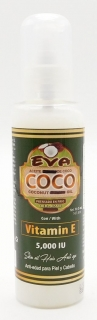 Eva Extra Virgin Coconut Oil with Vitamin E - Spray 147,8 ml